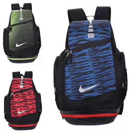 Рюкзак городской Nike красно-черный, фото 2