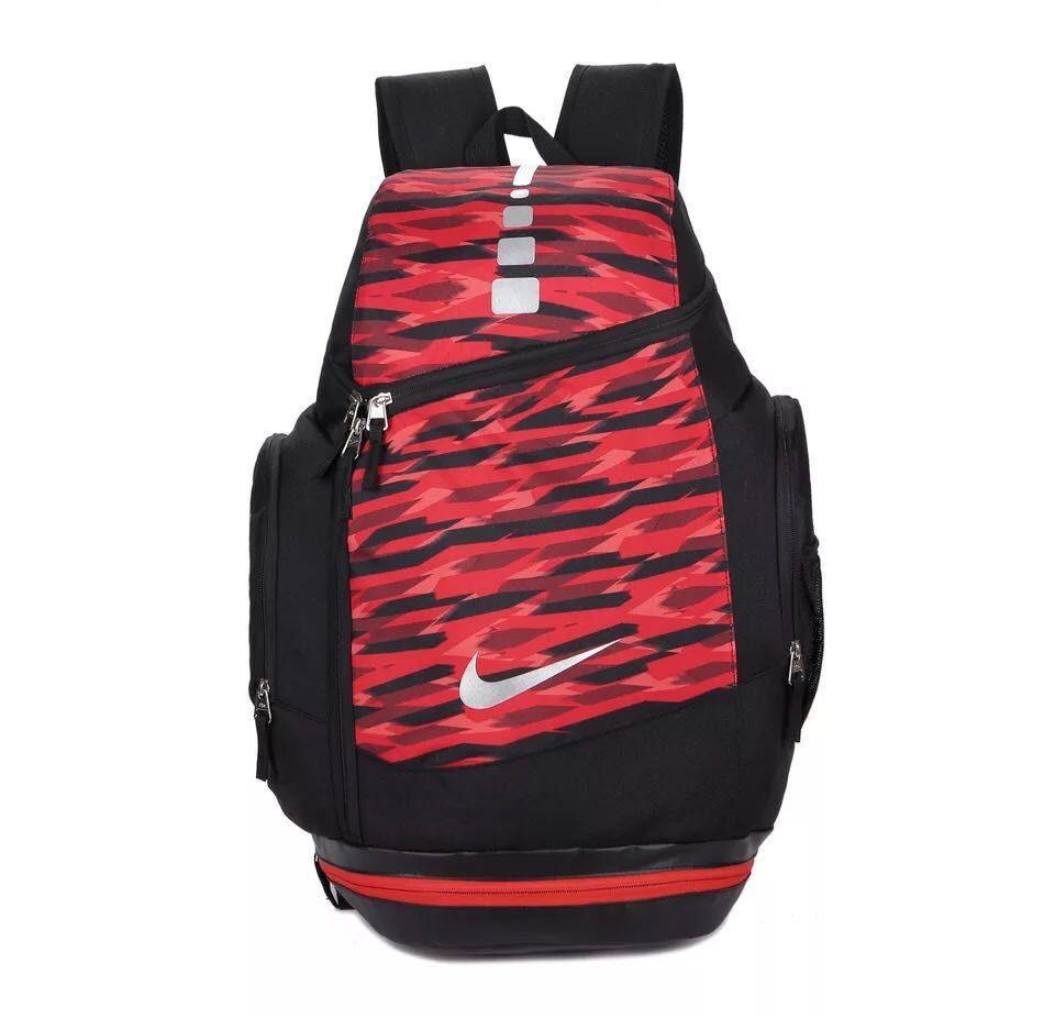 Рюкзак городской Nike красно-черный