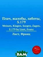 Лист Франц Плач, жалобы, заботы, S.179