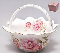 Конфетница Китайская роза, 16.5см BonaDi 222-128