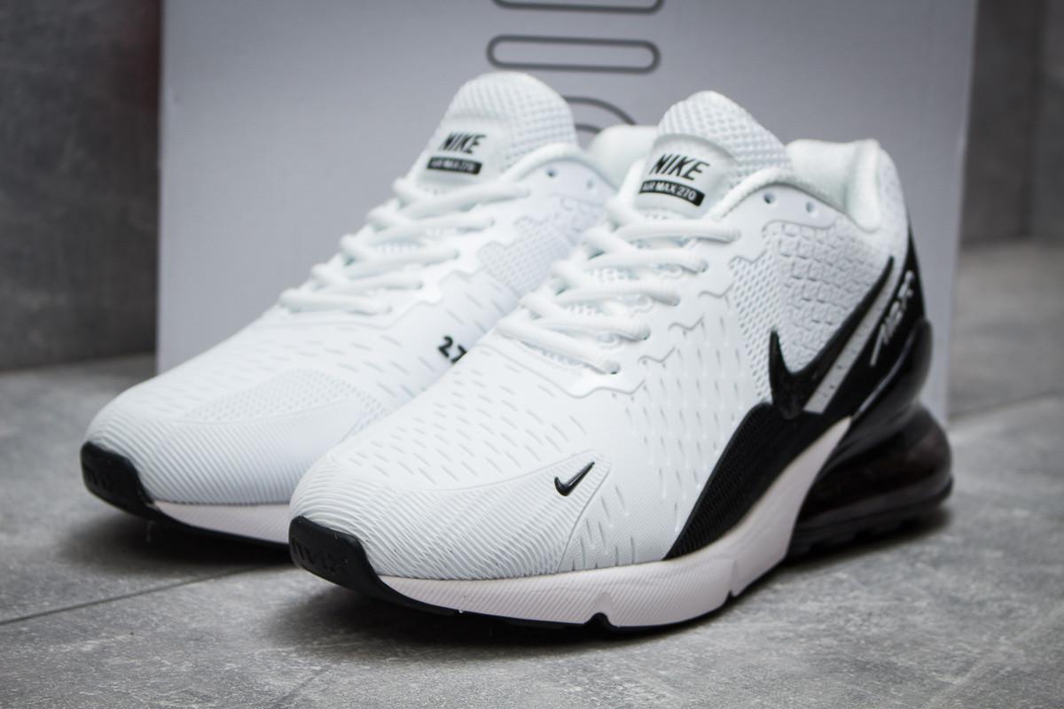 Мужские кроссовки Nike Air Max 270 белые - Интернет-магазин обуви и одежды