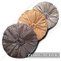 Декоративная подушка круглая
