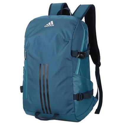 Рюкзак городской Adidas бирюзовый, фото 2