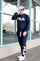 Спортивный костюм мужской FILA 2018 года.Отличное качество Украина.Цвета:графит,синий,электрик., фото 1