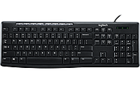 Клавиатура проводная Logitech K200 Black USB (920-008814)