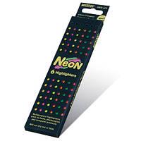 """Цветные карандаши Marco 5500B-6CB """"Neon"""", 6 цветов (Y) шестигранные неоновые  (уп24\480)"""