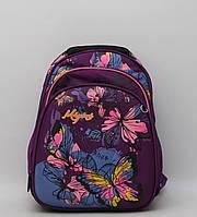 Уцінка. Ортопедичний шкільний рюкзак для дівчинки / Ортопедический школьный рюкзак для девочки