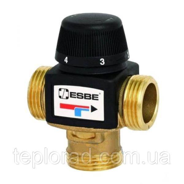 Термостатический смесительный клапан ESBE VTA572 G 11/4 DN25 20-43 C kvs 4.8