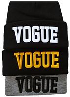 Вязаная зимняя шапка мужская , фото 1