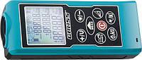 Далекомір лазерний KOMPAKT 70, від 0,05 до 70 метрів, функц. Піфагора, площа, об`єм, таймер// GROSS