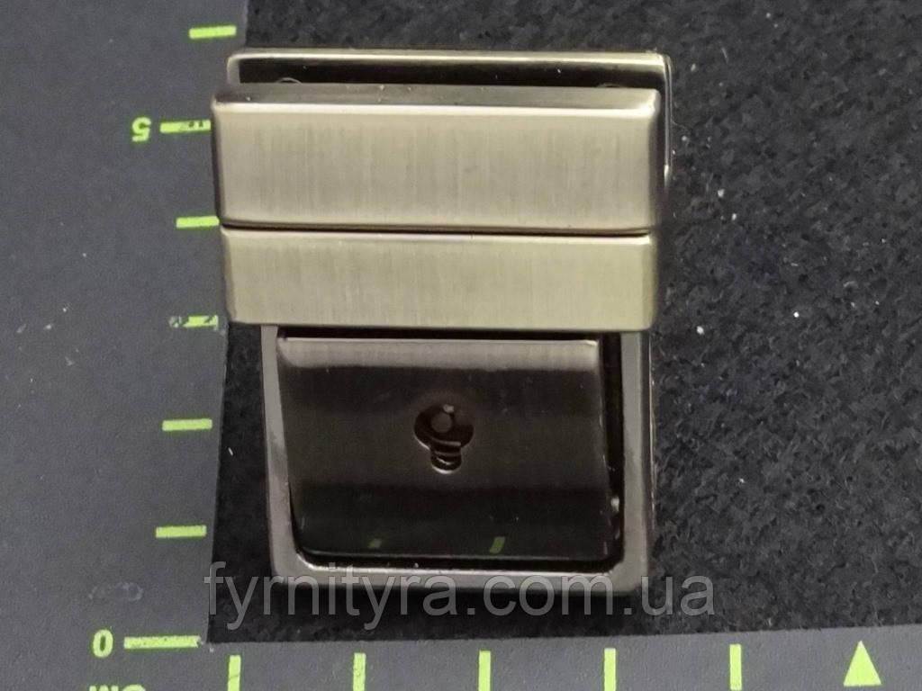 Замок 041 клавишный под ключик антик