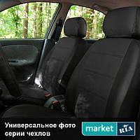 Чехлы на сиденья Renault Kangoo из Экокожи (AVto-AMbition), полный комплект (5 мест)