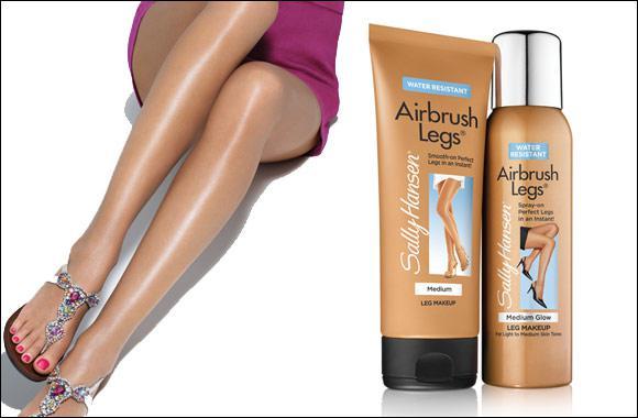 Жидкие колготы среднего оттенка загара Sally Hansen Airbrush Legs Spray