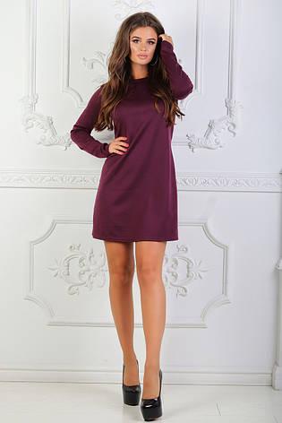 Платье мини с длинными рукавами, фото 2