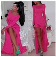 Вечернее платье с разрезом