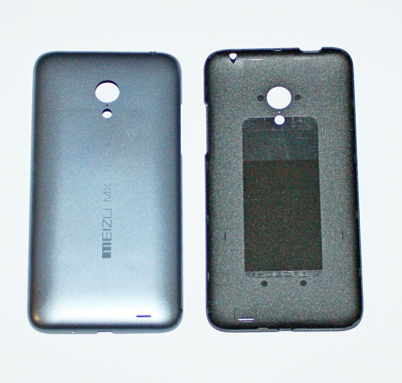 Задняя крышка Meizu MX3 серая orig