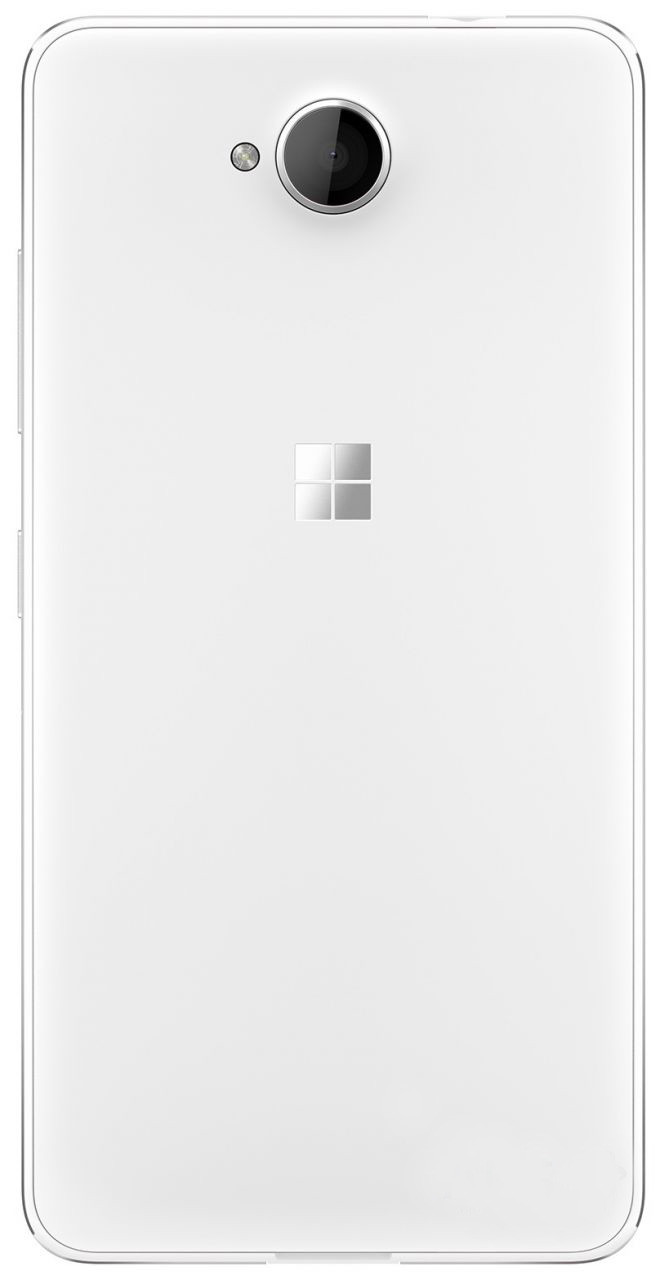 Задняя крышка Microsoft 650 Lumia белая