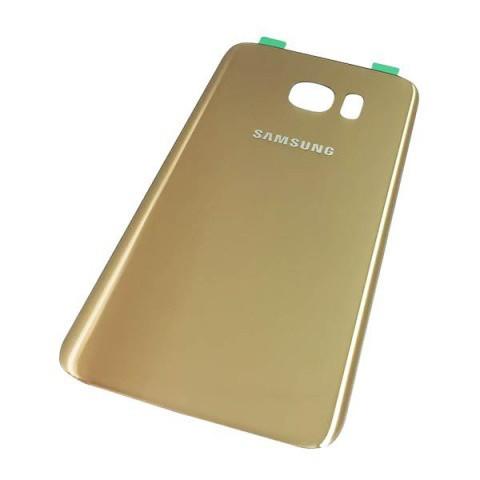 Задняя крышка Samsung G935 Galaxy S7 Edge золотистая ориг. к-во