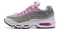 Женские кроссовки Nike Air Max 95 OG Platinum/Wolf Grey/Violet