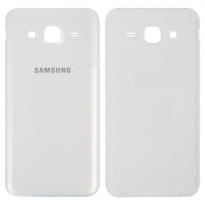 Задняя крышка Samsung J500H Galaxy J5 (2015) белая ориг. к-во