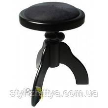 Круглий обертовий стілець для піаніно, матовий