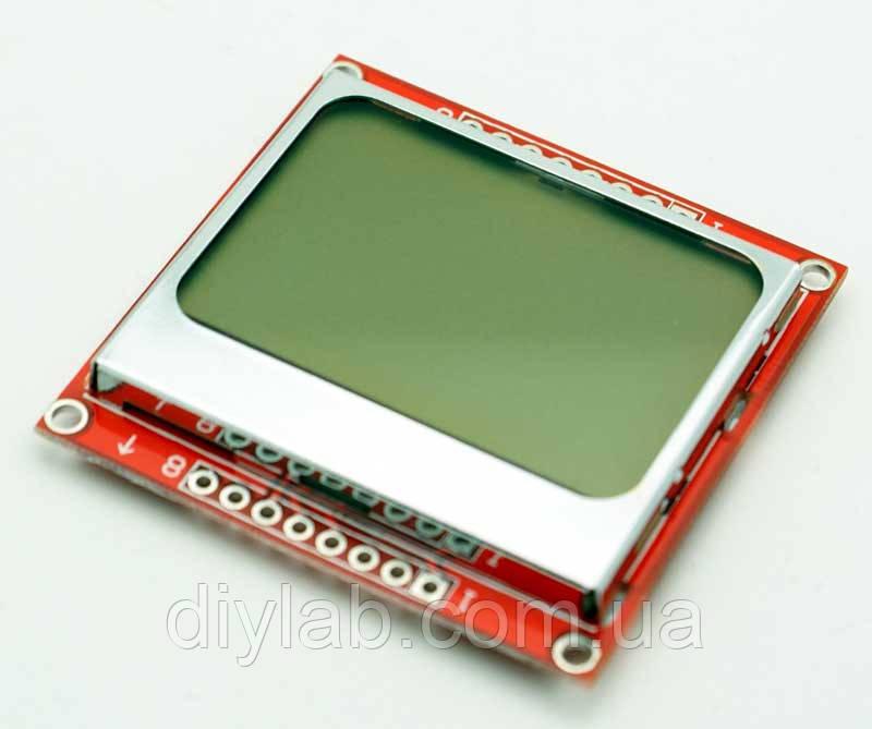 Графічний дисплей LCD Nokia 5110, фото 1