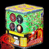 Фейерверк Дракоша 9 выстрелов