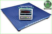 Весы платформенные 1 тонна — ВПЕ Центровес 1010-1 Эконом