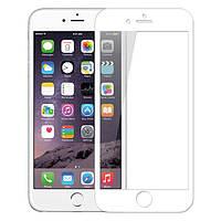 Защитное стекло iPhone 6 Plus   6S Plus (0.3 мм, 3D, oleophobic) белое