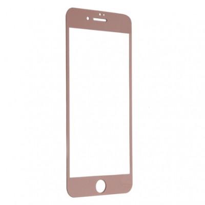 Защитное стекло iPhone 7 Plus | iPhone 8 Plus (0.3 мм, 3D, oleophobic) розовое золото