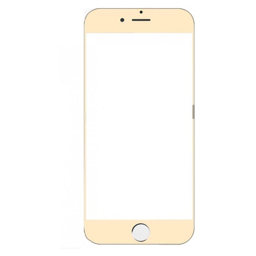 Защитное стекло iPhone 7 Plus | iPhone 8 Plus (0.3 мм, 3D, oleophobic) золотистое