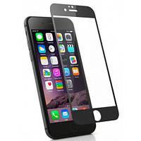 Защитное стекло iPhone 7 | iPhone 8 (0.3 мм, 3D, oleophobic) чёрное