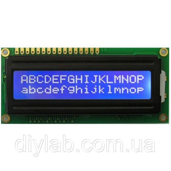 LCD 1602 HD44780 Arduino, Raspberry Pi, AVR, PIC від інтернет-магазину  електронних компонентів