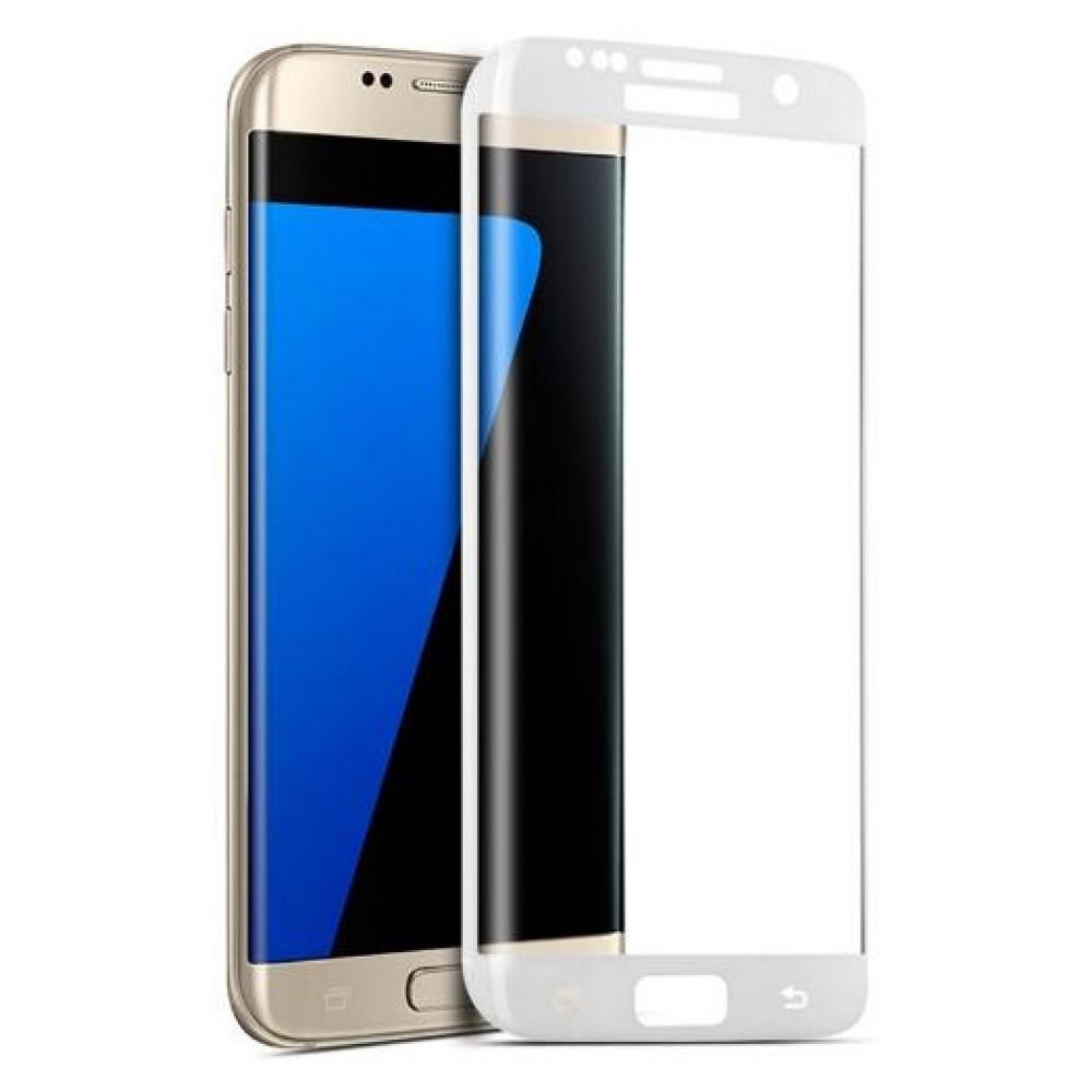 Защитное стекло Samsung G925 Galaxy S6 Edge (0.3 мм, 3D, oleophobic) белое