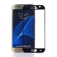 Защитное стекло Samsung G930 Galaxy S7 (0.3 мм | 3D | с олеофобным покрытием) dark blue