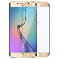 Защитное стекло Samsung G935 Galaxy S7 Edge (0.3 мм | 3D | с олеофобным покрытием) gold