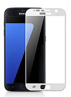Защитное стекло Samsung G930 Galaxy S7 (0.3 мм, 2.5D, с олеофобным покрытием) white