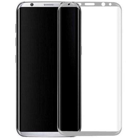 Защитное стекло Samsung G950 Galaxy S8 (0.3 мм, 3D, oleophobic) серебристое