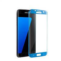 Защитное стекло Samsung G950 Galaxy S8 (0.3 мм, 3D, oleophobic) темно-синие