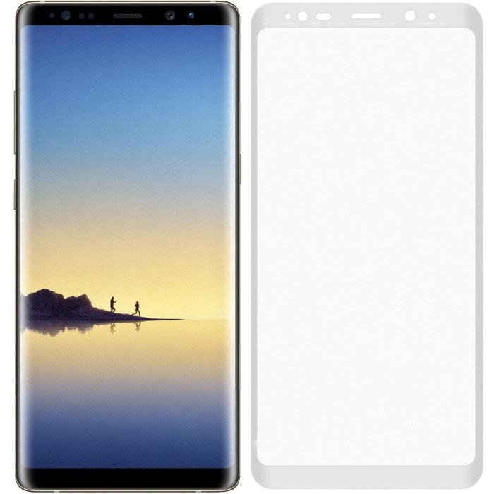 Защитное стекло Samsung N950 Galaxy Note 8 (0.3 мм, 3D, oleophobic) белое