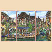 Рисунок на ткани для вышивки бисером Венецианские мотивы (полиптих) 95d1dd3cf1220