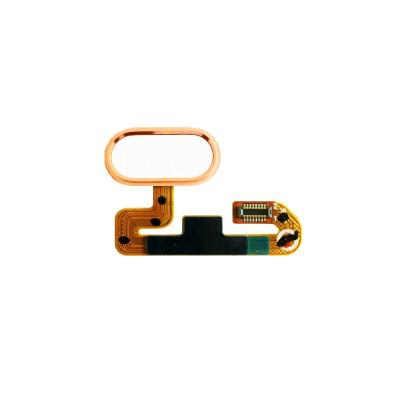 Шлейф (Flat, Flex cable) Meizu M3E с кнопкой меню (Home) золотой