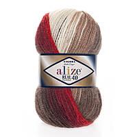 Пряжа нитки для вязания Alize Angora Real 40 Batik