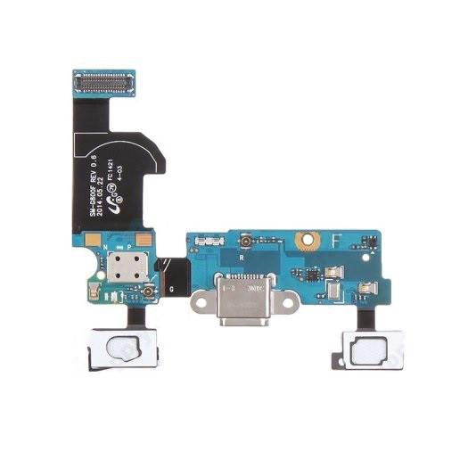 Плата нижняя (плата зарядки) Samsung G800H Galaxy S5 mini с разъемом зарядки и компонентами