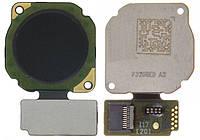 Шлейф (Flat, Flex cable) Huawei Nova 2 (2017) сканера отпечатка пальца, черный