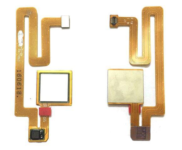 Шлейф (Flat, Flex cable) Xiaomi Mi Max сканера отпечатка пальца, золотистый