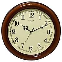 Часы настенные с плавным ходом, диаметром 310мм, Rikon, Индия