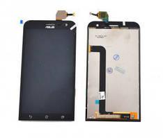 Дисплей (LCD) Asus ZenFone 2   ZE500KL с тачскрином чёрный orig