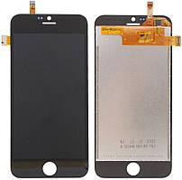 Дисплей (LCD) Blackview A6 Ultra с тачскрином чёрный