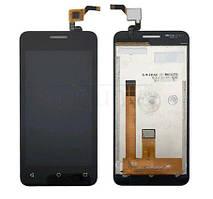 Дисплей (LCD) Fly FS407 Stratus 6 | 2016 с тачскрином чёрный